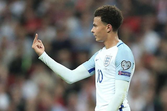 Dele Alli could face a ban as Fifa open disciplinary proceedings over middle-finger gesture