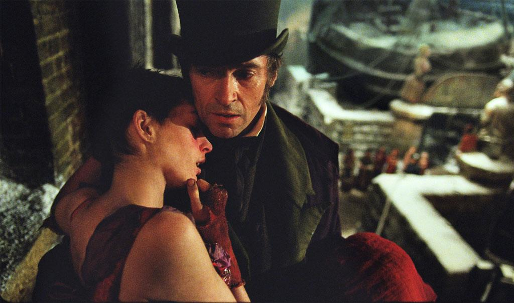"Anne Hathaway and Hugh Jackman in Universal Pictures' ""Les Miserables"" - 2012"