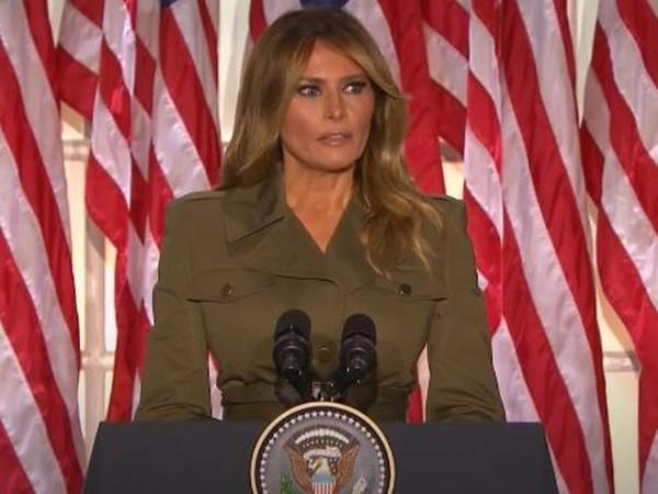 US First Lady Melania Trump