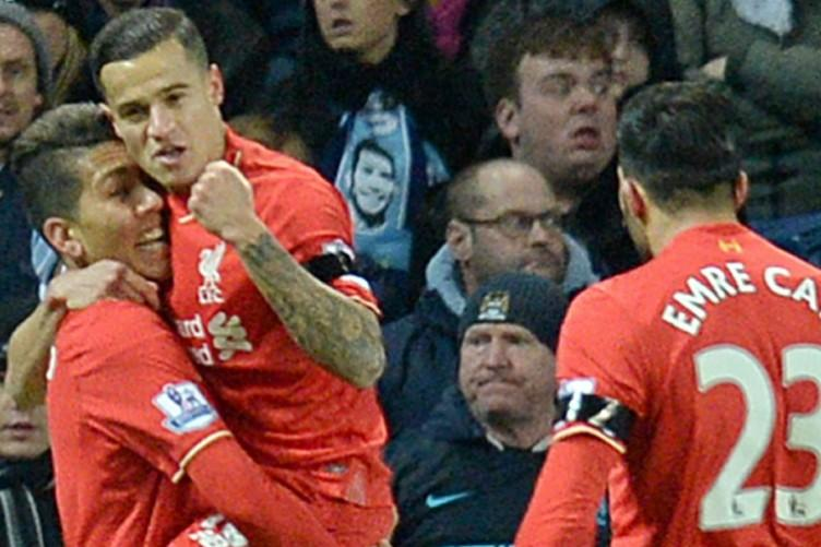 Coutinho and Firmino inspired Liverpool to a stunning win over Manchester City
