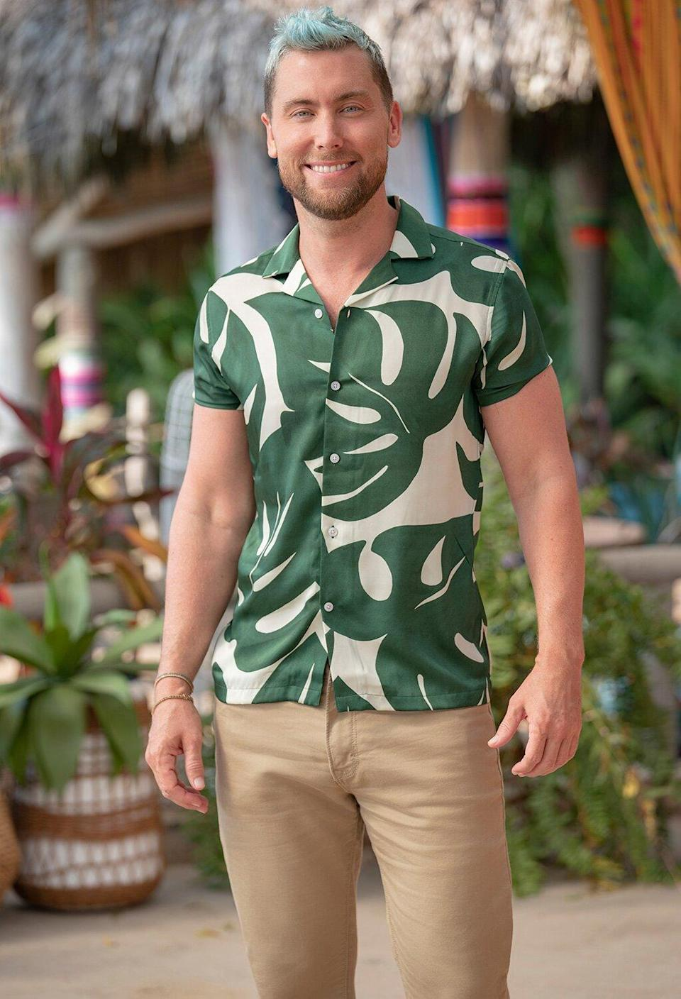 Lance Bass Bachelor in Paradise