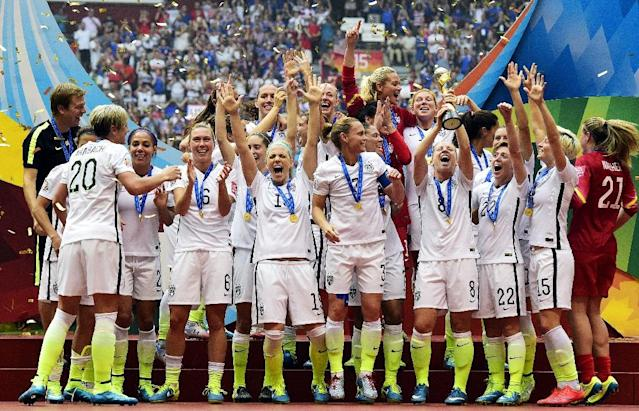 The United States kick off the World Cup as defending champions (AFP Photo/Franck FIFE)