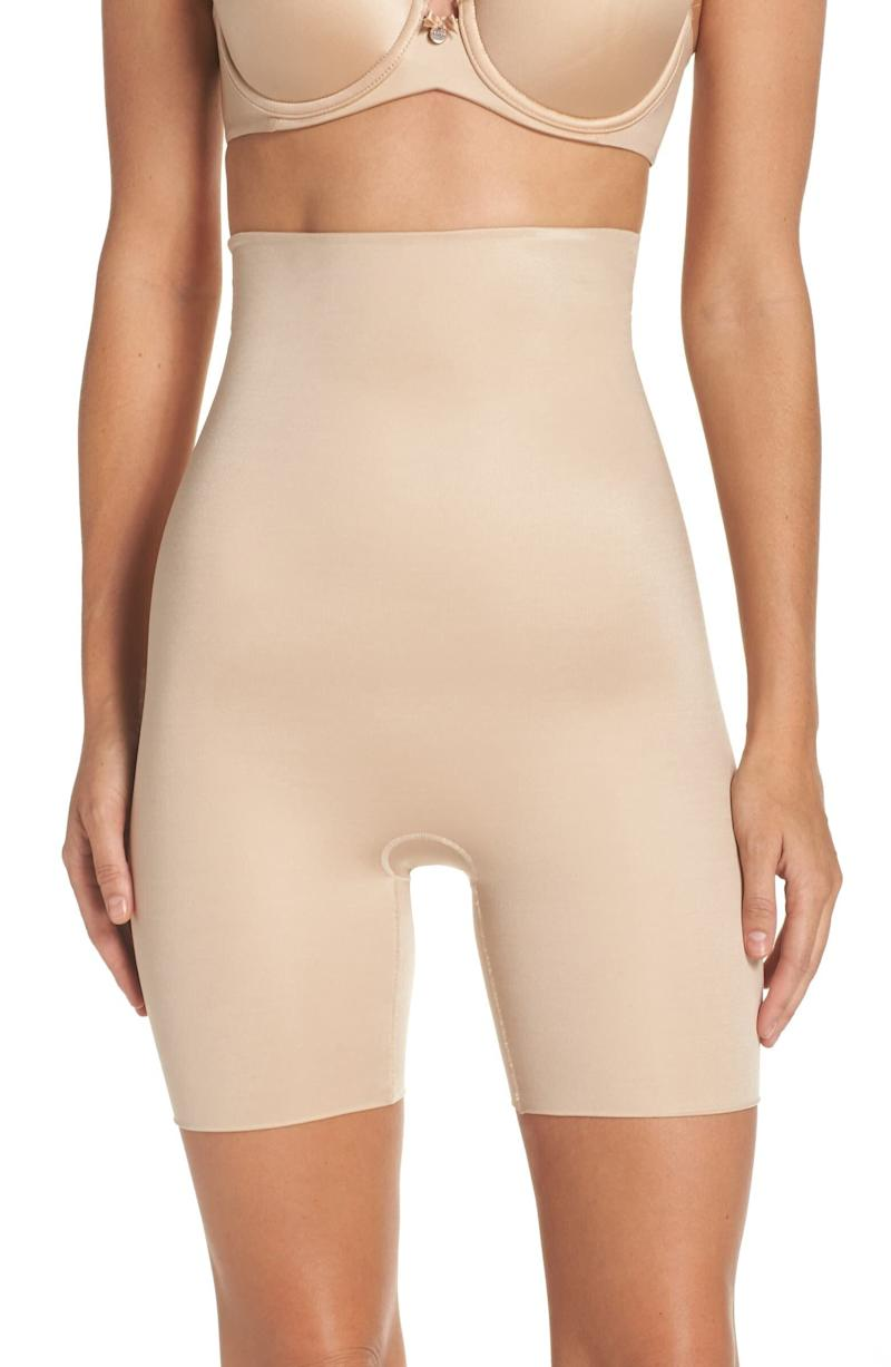Spanx Power Conceal-Her High Waist Mid-Thigh Shaping Shorts