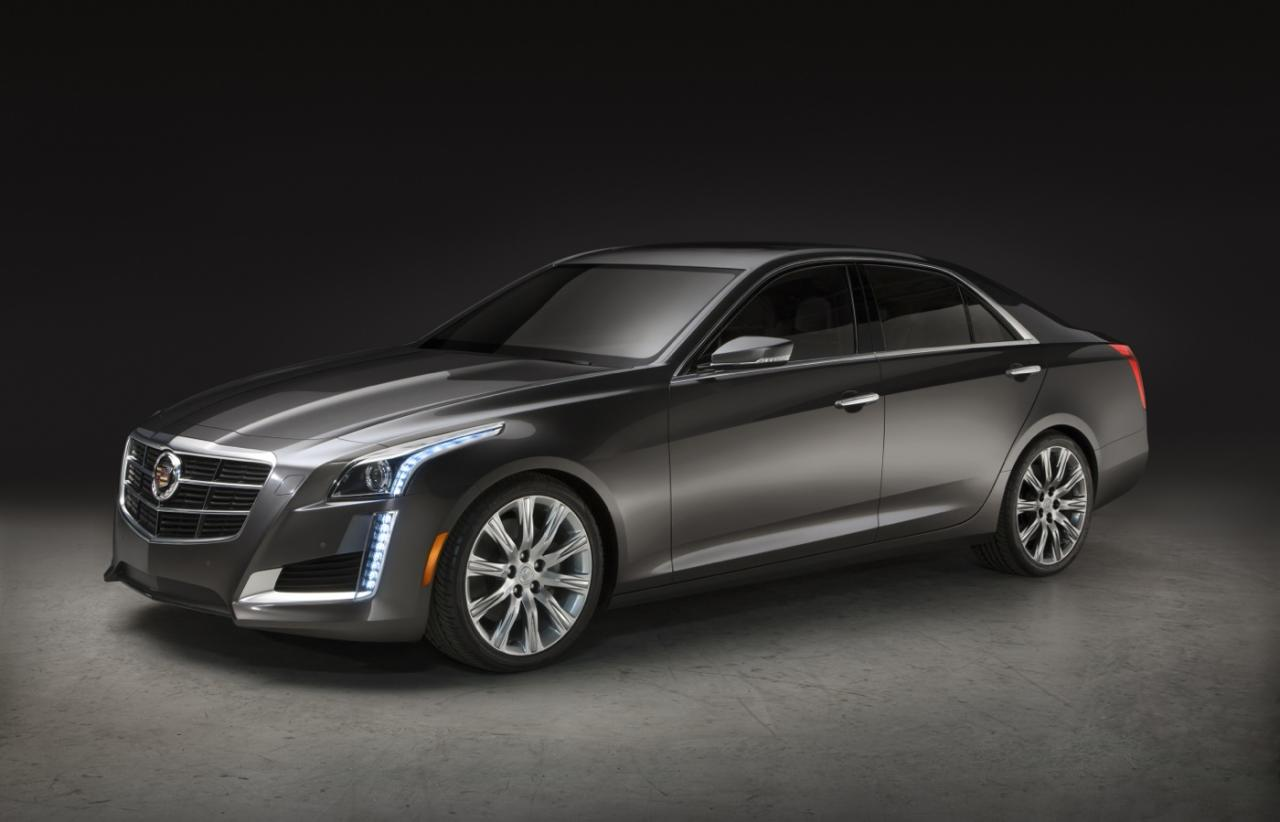 The all-new 2014 Cadillac CTS midsize luxury sedan will go sale in the fall, 2013.