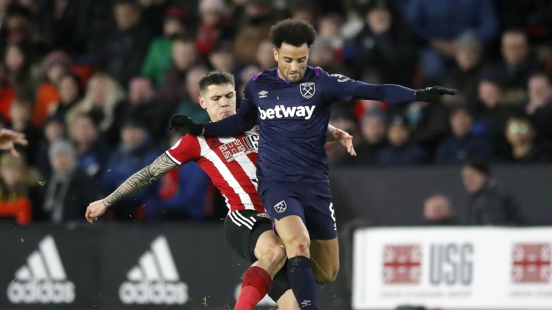 West Ham midfielder Anderson sidelined for a month