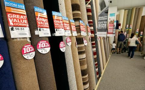 Carpetright  - Credit: Chris Ratcliffe/ Bloomberg News