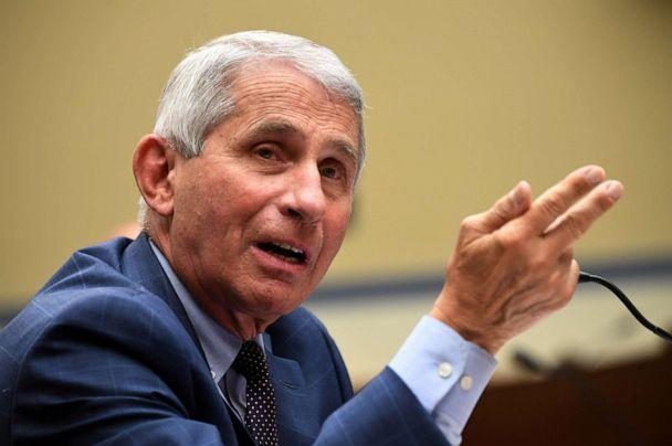 PHOTO: Dr. Anthony Fauci, director of the National Institute for Allergy and Infectious Diseases, testifies during the House Select Subcommittee on the Coronavirus Crisis hearing in Washington, D.C., on July 31, 2020. (Kevin Dietsch/Pool via REUTERS, File)