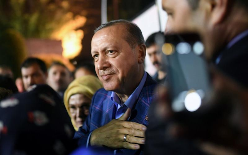 Mr Erdogan has pledged to move foward with plans to reinstate the death penalty in Turkey - Credit: AFP PHOTO / Bulent Kilic