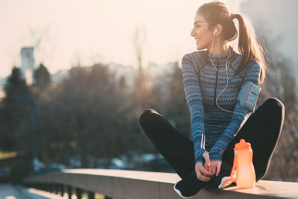 """<p>Try on your fitness clothes, and ditch any that you haven't worn in two seasons, have holes or rips, are so worn that they are see-through, or make you feel uncomfortable. """"Your fitness gear should make you inspired to workout,"""" says DiDio, creator of <em>Prevention'</em>s<a href=""""https://order.hearstproducts.com/subscribe/hstproducts/247300"""" rel=""""nofollow noopener"""" target=""""_blank"""" data-ylk=""""slk:Tone Up in 15"""" class=""""link rapid-noclick-resp""""> Tone Up in 15</a> DVD. """"Designate an area of your closet or dresser drawer for fitness clothing. This way you can quickly find the right outfit and jump into your workout.""""</p>"""