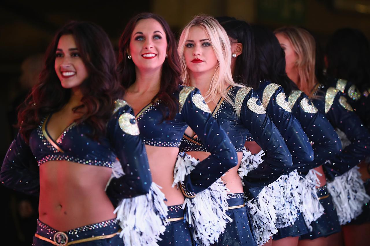 <p>during the NFL game between Arizona Cardinals and Los Angeles Rams at Twickenham Stadium on October 22, 2017 in London, England. </p>