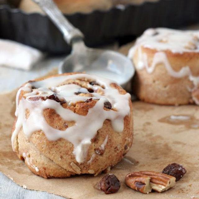 "<p>Nothing beats cinnamon rolls made from scratch. This almond flour-based version has a honey, pecan, walnut, raisin, and cinnamon filling that will have you licking your fingers afterward.</p><p><strong>Get the recipe at <a rel=""nofollow"" href=""http://theurbanposer.com/best-almond-flour-cinnamon-rolls-paleo/"">The Urban Poser</a>.</strong></p><p><strong><strong>RELATED: <a rel=""nofollow"" href=""http://www.redbookmag.com/food-recipes/g4091/decadent-dessert-recipes/"">20 Desserts That Might Actually Be Better Than Sex</a></strong><span></span><br></strong></p>"