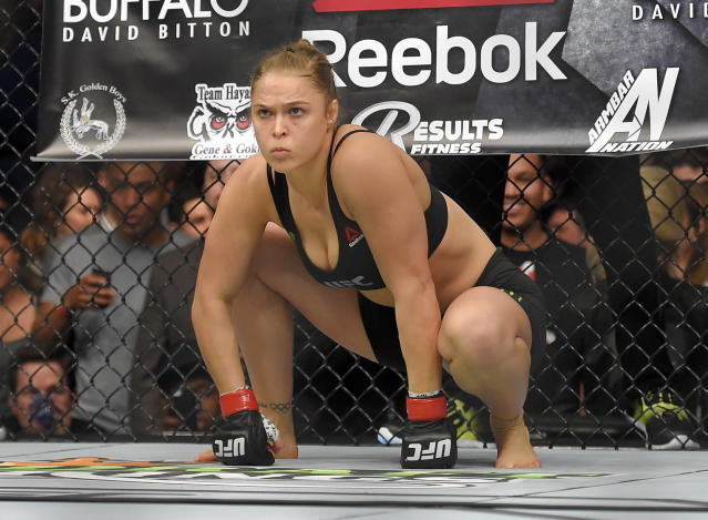Wal-Mart won't sell Ronda Rousey's new book because she's too violent