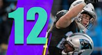 <p>The Panthers still play at the Browns and the Saints twice. Even if they just lose the two to the Saints, they wouldn't be guaranteed a playoff spot at 9-7. It's stunning a team as good as the Panthers, which started 6-2, finds itself in such a spot. (Christian McCaffrey) </p>