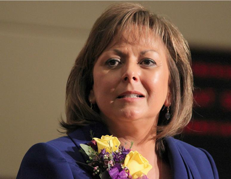 FILE - In this Jan. 17, 2012 photo, New Mexico Gov. Susana Martinez speaks in Santa Fe, N.M., If you hope to be president someday, taking the second spot on a ticket is a pretty good deal if that ticket wins. It's a possible path to obscurity if the ticket loses. (AP Photo/Susan Montoya Bryan, File)