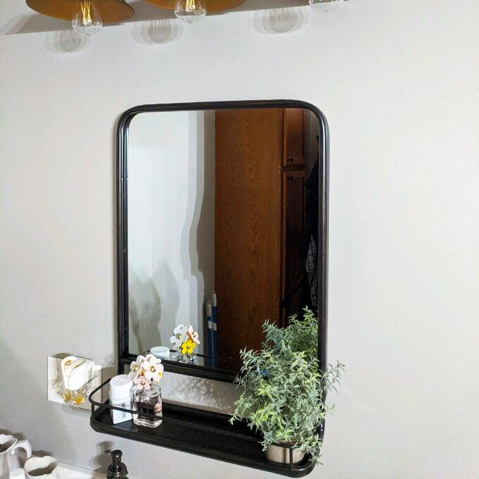"""<h2>Laurel Foundry Modern Farmhouse Peetz Accent Mirror With Shelves</h2><br><strong>Deal: 40% Off</strong><br>Readers and reviewers adore this industrial-chic mirror for its dual style and storage wielding powers that can help you hold everything from entryway to bathroom and even bedside essentials. <br><br><strong>Laurel Foundry Modern Farmhouse</strong> Peetz Accent Mirror with Shelves, $, available at <a href=""""https://go.skimresources.com/?id=30283X879131&url=https%3A%2F%2Fwww.wayfair.com%2Fdecor-pillows%2Fpdp%2Fpeetz-accent-mirror-with-shelves-w000796181.html"""" rel=""""nofollow noopener"""" target=""""_blank"""" data-ylk=""""slk:Wayfair"""" class=""""link rapid-noclick-resp"""">Wayfair</a>"""