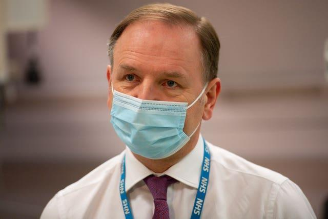 NHS England chief executive Sir Simon Stevens