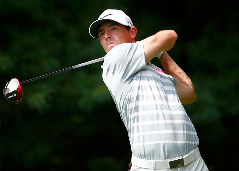 Rory McIlroy during the final round of the WGC-Bridgestone Invitational in Ohio on August 3, 2014
