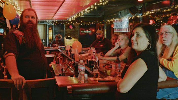 "A scene from the bar in ""Bloody Nose, Empty Pockets."" <span class=""copyright"">(Sundance Institute)</span>"