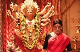 Laxmmi Bomb: Akshay Kumar reveals his saree-clad avatar on the occasion of Navratri