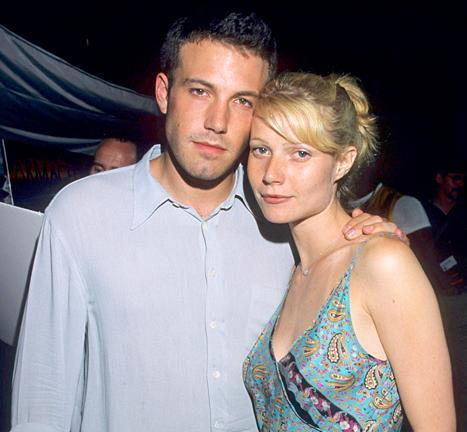 Ben Affleck and Gwyneth Paltrow at the Armageddon Premiere in 1998.