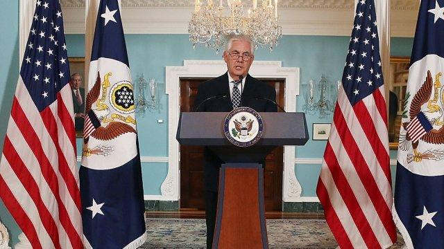 Secratary of State Rex Tillerson on Iran