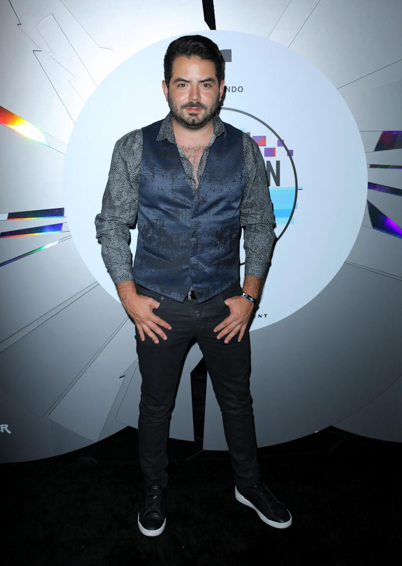 HOLLYWOOD, CALIFORNIA - OCTOBER 17: Actor Jose Eduardo Derbez attends Telemundo and Universal Music Latin Entertainment's 2019 Latin American Music Awards after party at Avalon on October 17, 2019 in Hollywood, California. (Photo by JC Olivera/Getty Images)
