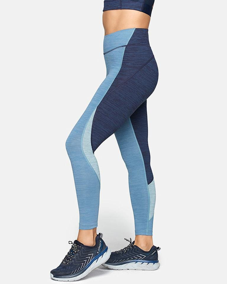 "<p>These color-blocked leggings will add some pizzazz to her athleisure wardrobe. An added benefit: Outdoor Voices' tech-sweat fabric will keep her cool no matter the physical activity.</p> <p>Outdoor Voices TechSweat 7/8 Zoom Leggings</p> $95, Outdoor Voices. <a href=""https://www.outdoorvoices.com/products/techsweat-7-8-zoom-legging?variant=12490656907342"">Get it now!</a>"