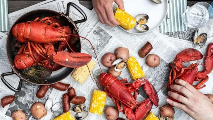Get your Maine lobster fix.