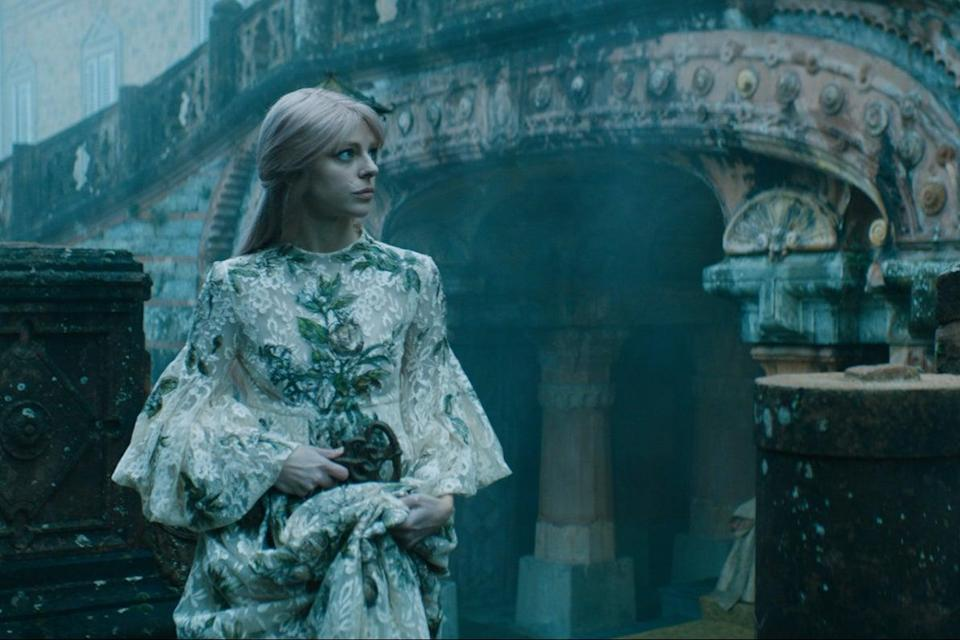 <p>A still from the Dior Haute Couture SS21 film</p> (Dior)