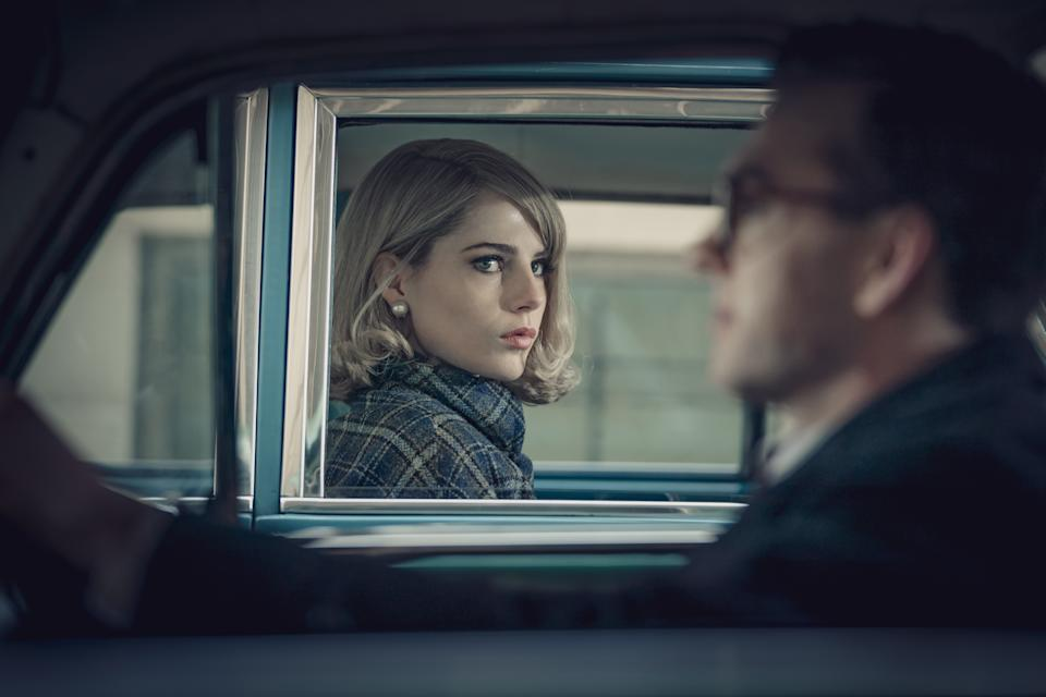 Lucy Boynton as Jean in The Ipcress File. (Altitude TV/ITV)