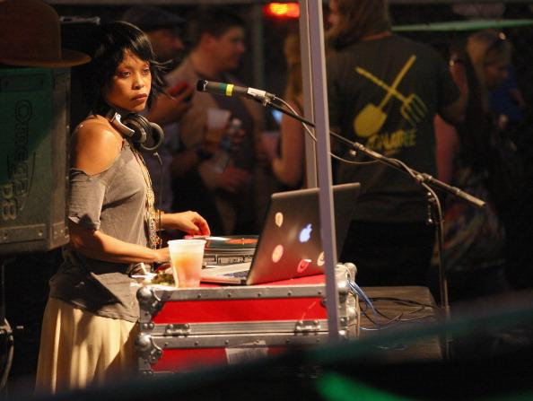Erykah Badu performs onstage at the VICE Kills TX Music Showcase during the 2013 SXSW Music, Film + Interactive Festival at Viceland on March 16, 2013 in Austin, Texas.