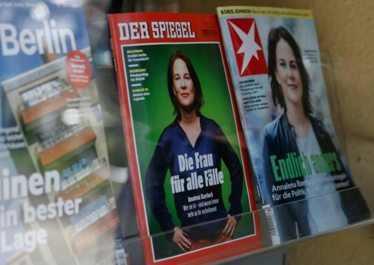Annalena Baerbock, co-leader of Germany's Green party and chancellor candidate for the upcoming general election, has been the subject of fake news