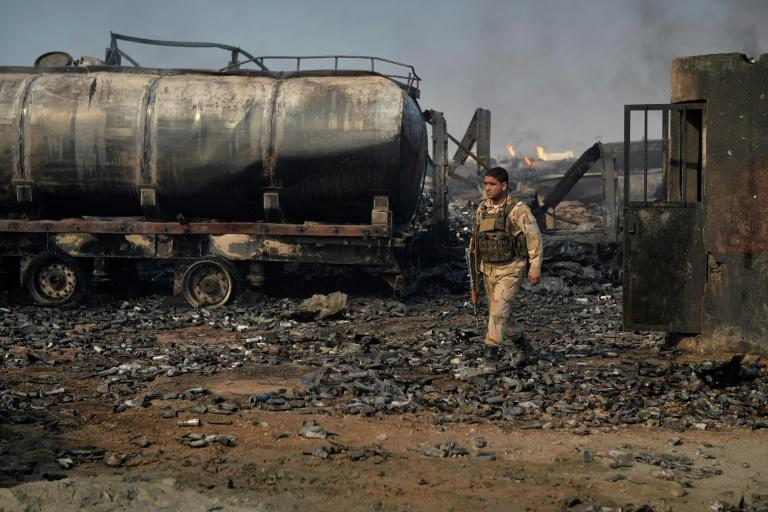 The huge blaze at Islam Qala port has largely been extinguished and an investigation launched into its cause