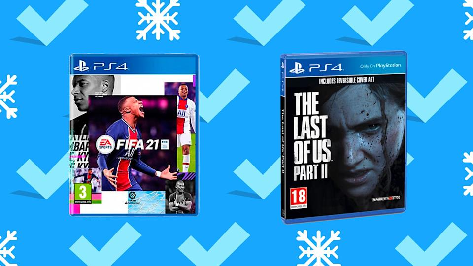 Get the gamer in your life the games they've been eyeing.