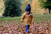 <p>Head over to your local park, playground, or even your own backyard for a fall-themed scavenger hunt. Your little ones will love exploring and finding all of the hidden treasures on their list.</p>