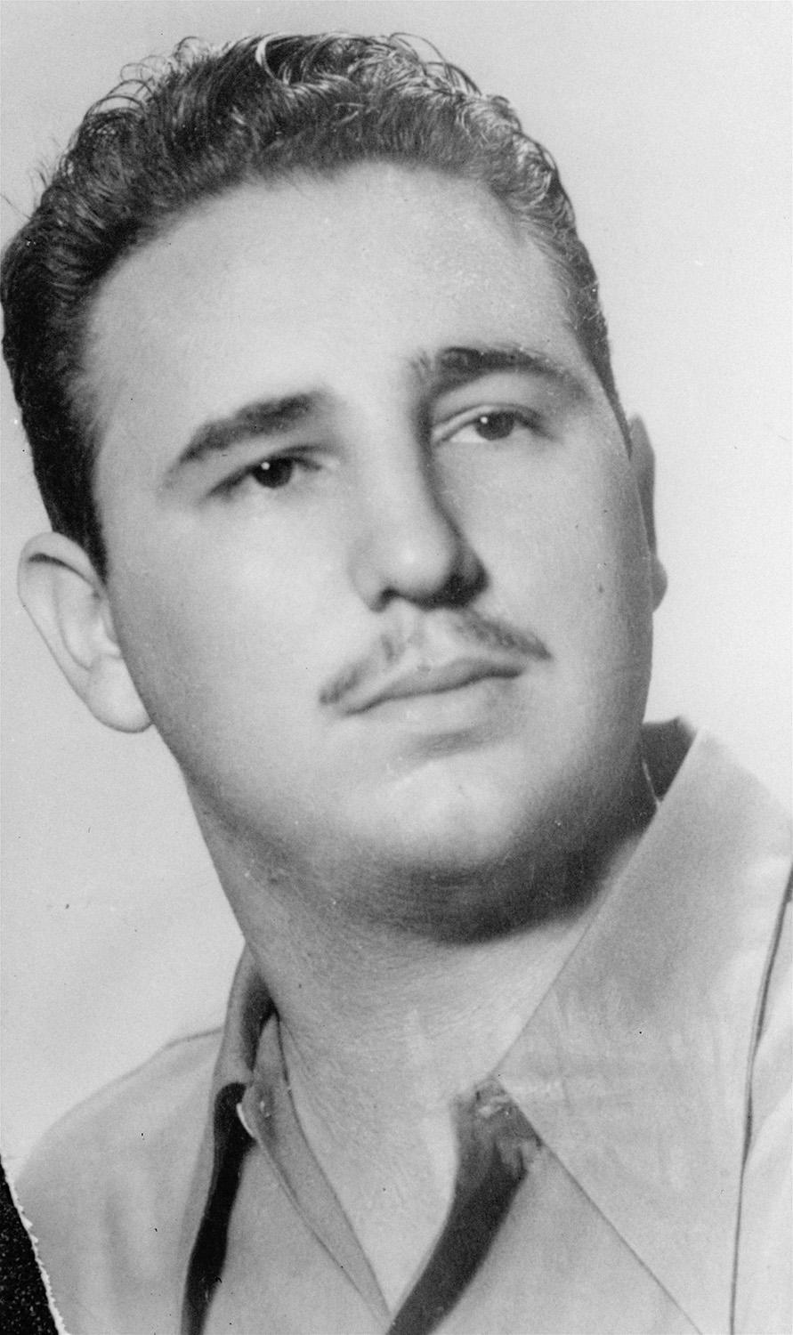 <p>In this undated file photo, Fidel Castro poses for a portrait in an unknown location. (AP Photo) </p>