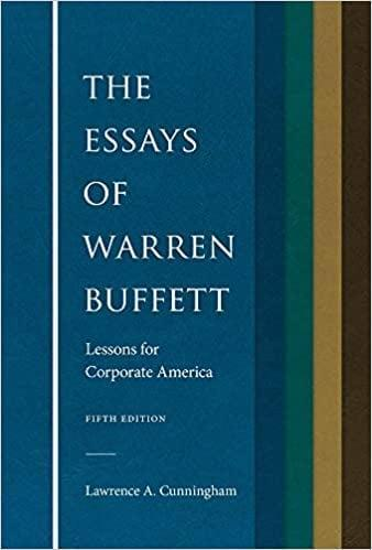 <p>Learn from one of the greatest investors of our time with <span><b>The Essays of Warren Buffett: Lessons for Corporate America</b></span> ($31). Warren Buffett shares his perosnal philosphies on investing that both new and experienced readers will enjoy.</p>