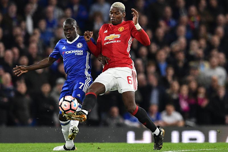 Stamina: Pogba says Kante has made the difference for Chelsea this season: AFP/Getty Images