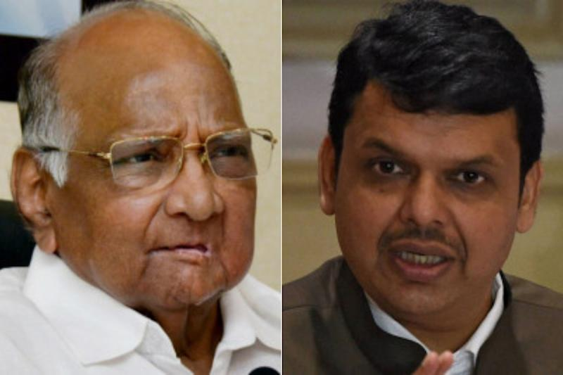 Battle Between Two 'Chanakyas' Out in Open as Pawar, Fadnavis Flex Muscles in Western Maharashtra