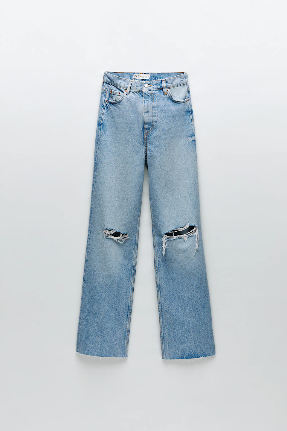 "<br><br><strong>Zara</strong> '90s Full Length Jeans, $, available at <a href=""https://go.skimresources.com/?id=30283X879131&url=https%3A%2F%2Fwww.zara.com%2Fus%2Fen%2Fzw-premium-%25E2%2580%259890s-full-length-jeans-in-harmony-blue-p06840250.html%3Fv1%3D69847991%26v2%3D1549287"" rel=""nofollow noopener"" target=""_blank"" data-ylk=""slk:Zara"" class=""link rapid-noclick-resp"">Zara</a>"
