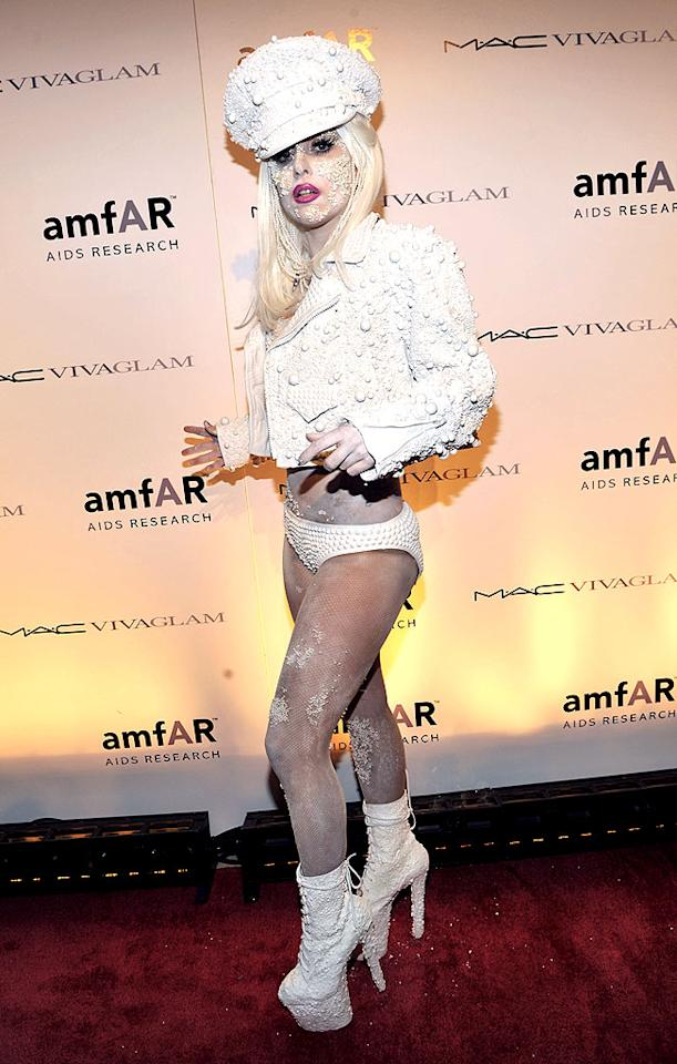 "If you've ever seen Lady Gaga -- her outrageous headgear, her wacky footwear, and her ability to leave jaws dropping wherever she goes -- then you know exactly why she's on this list. 'Nuff said! Kevin Mazur/<a href=""http://www.wireimage.com"" target=""new"">WireImage.com</a> - February 10, 2010"