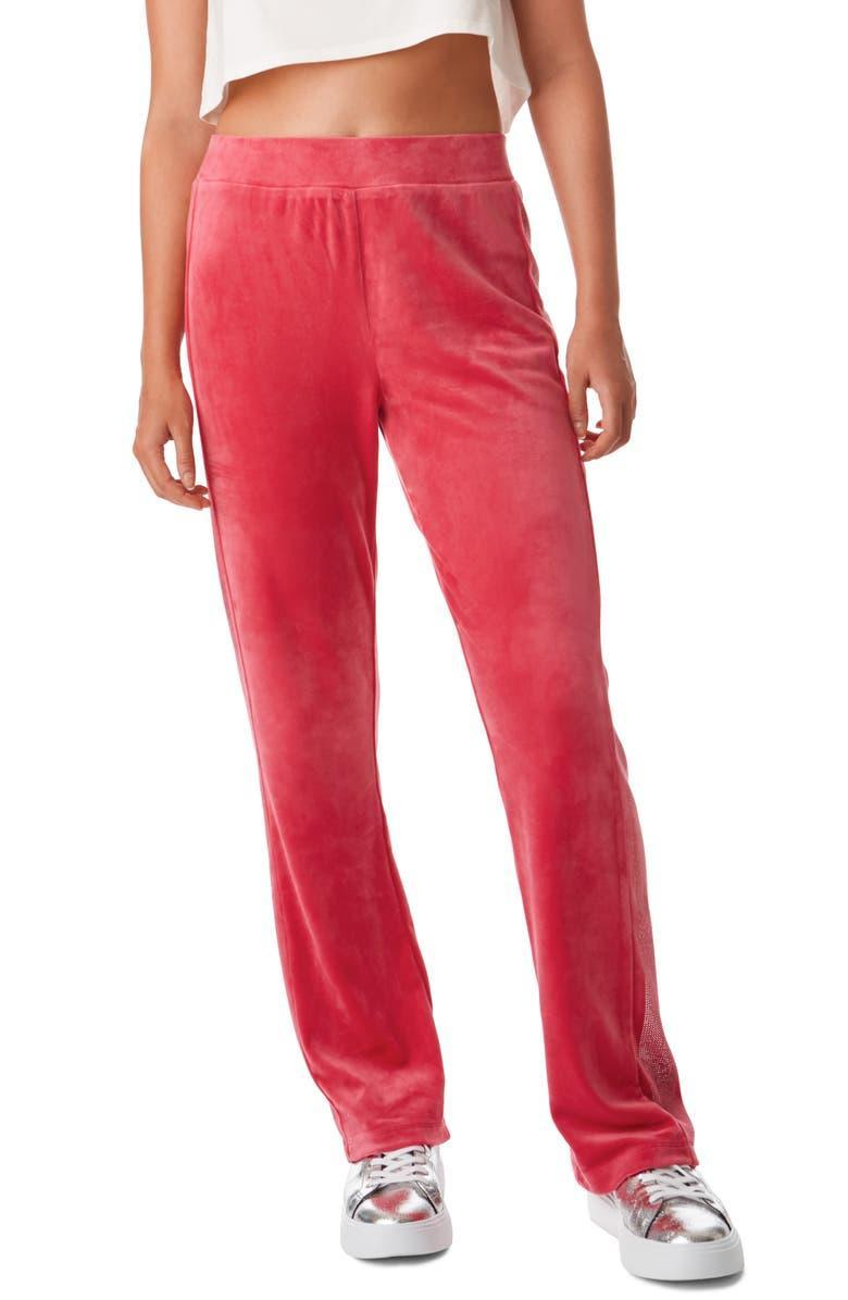 """<h2>Juicy Couture Anniversary Velour Track Pants</h2><br>The coziness, the glam-factor, the images of early 00's celebs carrying Starbucks; it's all there, stored in our brains for life. But let's be real — Juicy sweats were peak comfort. <br><br><strong>Juicy Couture</strong> Anniversary Velour Track Pants, $, available at <a href=""""https://go.skimresources.com/?id=30283X879131&url=https%3A%2F%2Fwww.nordstrom.com%2Fs%2Fjuicy-couture-anniversary-velour-track-pants%2F5823566"""" rel=""""nofollow noopener"""" target=""""_blank"""" data-ylk=""""slk:Nordstrom"""" class=""""link rapid-noclick-resp"""">Nordstrom</a>"""