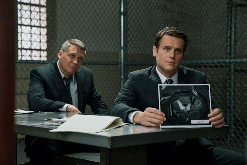 Holt McCallany and Jonathan Groff in 'Mindhunter' (Photo: Patrick Harbron/Netflix)