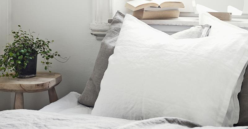 This silk pillowcase has helped me soothe me during the coronavirus lockdown. (Getty Images)