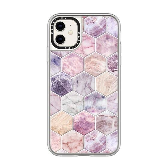 """<h3><a href=""""https://www.casetify.com/product/rose-quartz-and-amethyst-stone-and-marble-hexagon-tiles-large/iphone11/classic-grip-case-with-camera-ring"""" rel=""""nofollow noopener"""" target=""""_blank"""" data-ylk=""""slk:Casetify Rose Quartz and Amethyst Stone iPhone Case"""" class=""""link rapid-noclick-resp"""">Casetify Rose Quartz and Amethyst Stone iPhone Case</a></h3><br>""""Don't forget: Libras are the flirtiest sign of the zodiac,"""" says Stardust. """"An iPhone cover with Libra's signature crystal — rose quartz — will help keep their heart tingly with glee while sending sexts and flirty messages to their crush.""""<br><br><strong>Casetify</strong> Rose Quartz and Amethyst Stone and Marble Hexagon Tiles, $, available at <a href=""""https://go.skimresources.com/?id=30283X879131&url=https%3A%2F%2Fwww.casetify.com%2Fproduct%2Frose-quartz-and-amethyst-stone-and-marble-hexagon-tiles-large%2Fiphone11%2Fclassic-grip-case-with-camera-ring"""" rel=""""nofollow noopener"""" target=""""_blank"""" data-ylk=""""slk:Casetify"""" class=""""link rapid-noclick-resp"""">Casetify</a>"""