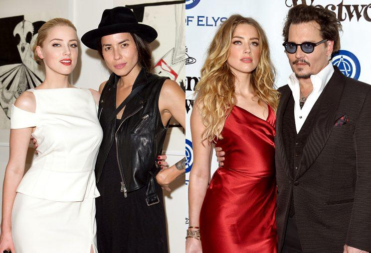 Amber Heard went from Tasya van Ree to Johnny Depp. (Photo: Getty Images)