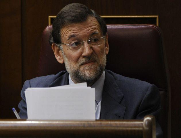 Mariano Rajoy. (Photo: PIERRE-PHILIPPE MARCOU via Getty Images)