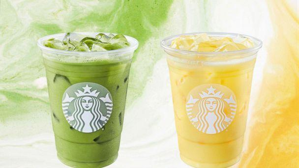 PHOTO: Starbucks has two new drinks for Spring that are both made with coconut milk. (Starbucks)