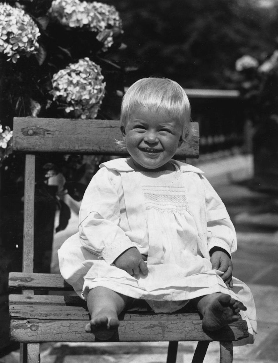 <p>Philip, who was born in Greece in June 1921, was exiled from the country with his family when his uncle, King Constantine, abdicated the throne. Some six months after this photo was taken, Philip and his family boarded the HMS Calypso and headed to Paris.</p>