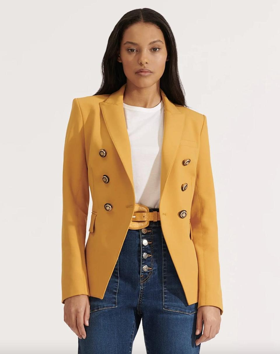 <p>This tailored <span>Veronica Beard Miller Dickey Jacket</span> ($209, originally $695) is designed to look sophisticated. Wear it to happy hour after a chic day at the office.</p>